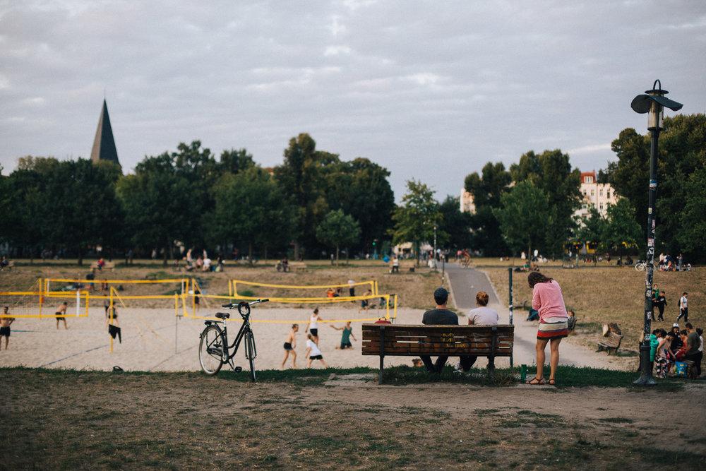 15.08.18  My local park - Volkspark Friedrichshain.