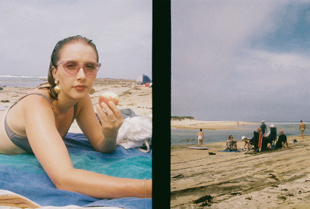 26.02.2019  Lize @ Dolphin's point. Some old film back from the beginning of the year.