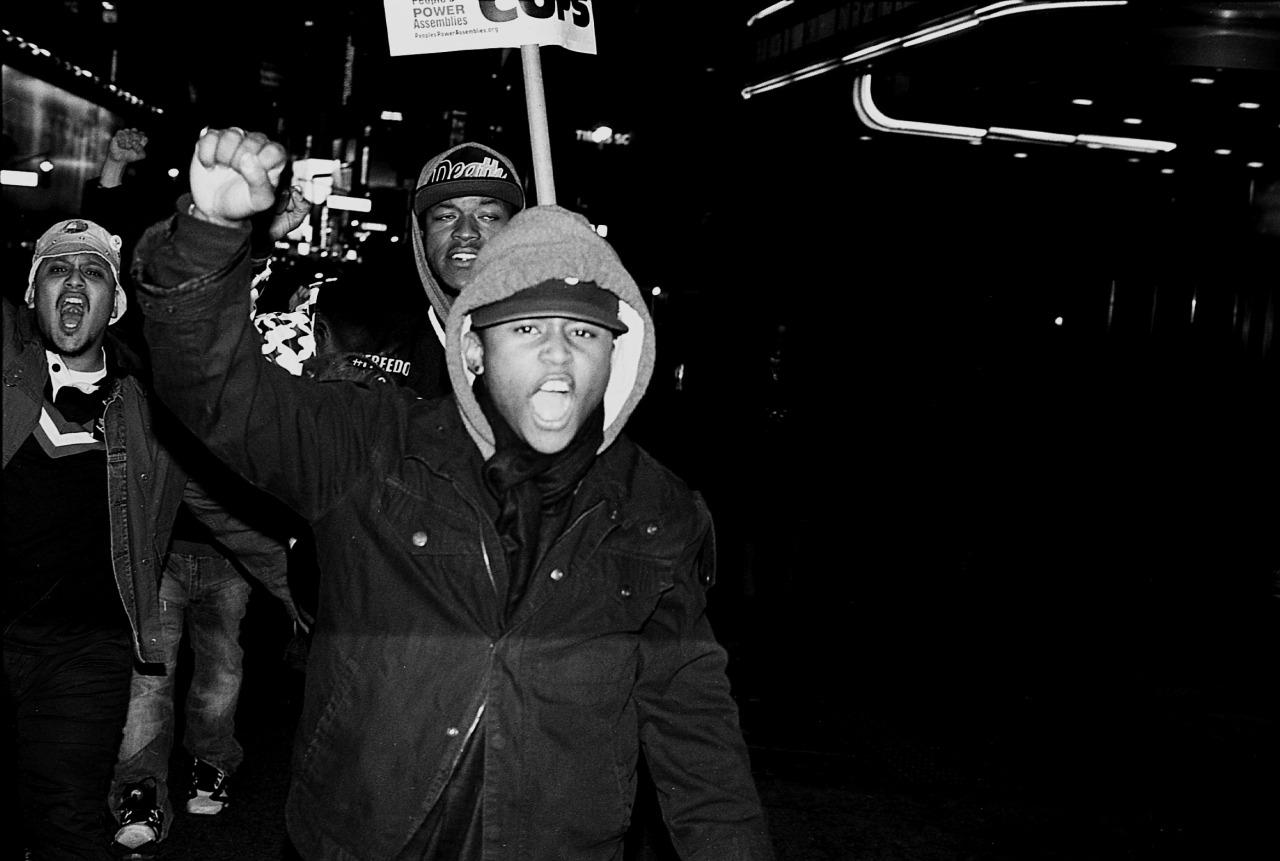 December 3, 2014. Eric Garner Protest.