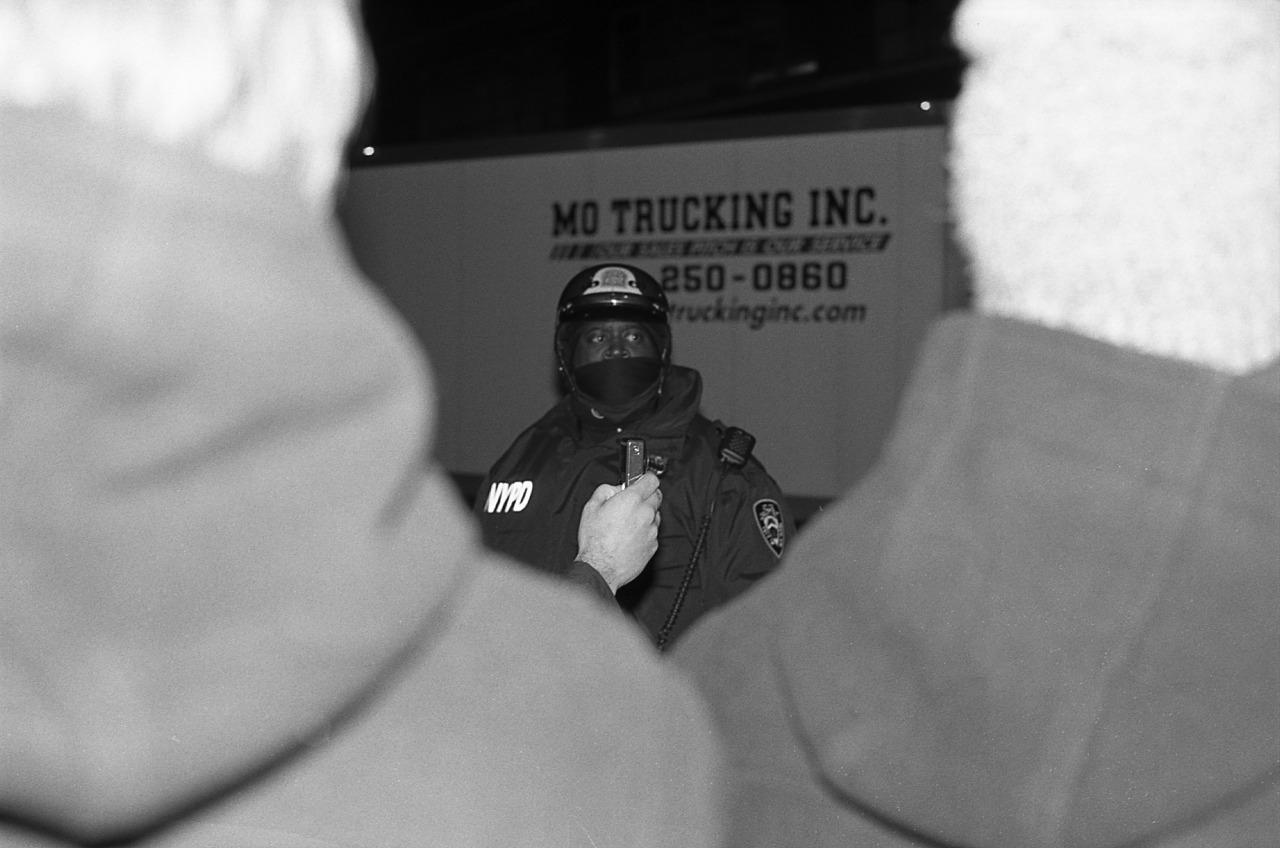 Eric Garner Protest. December 3, 2014.