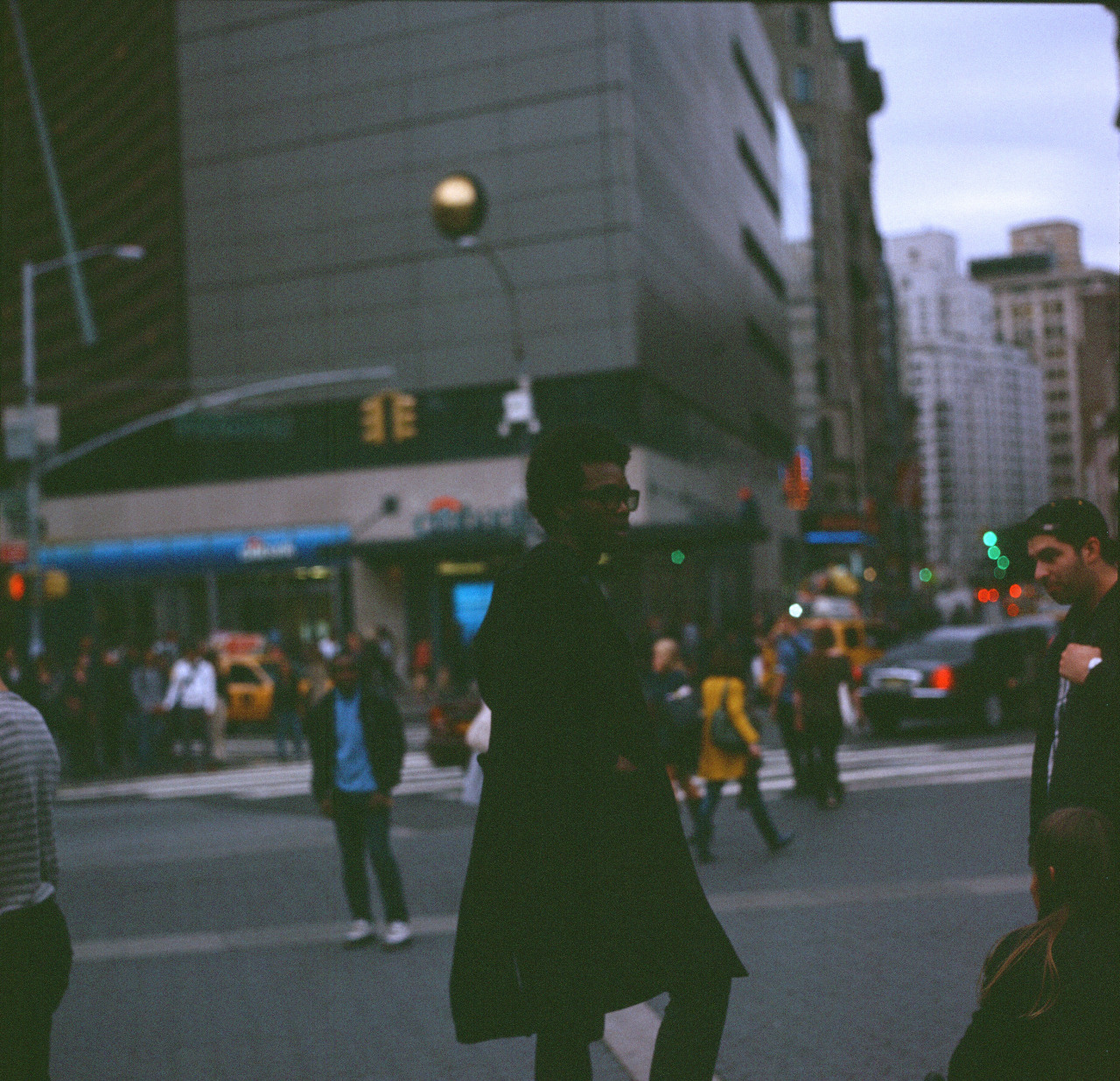 New York, 2014. Expired Film.