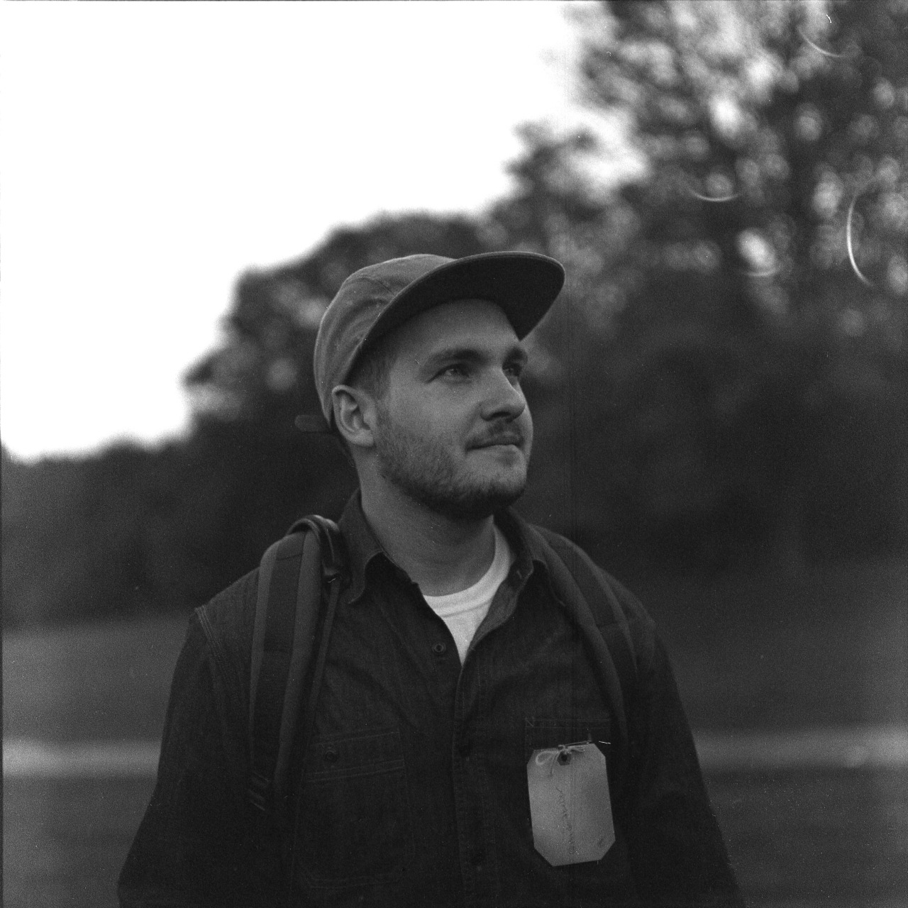 Late light portrait of photographer David Keller at the #wandertogether in Prospect Park this past weekend. Good times.