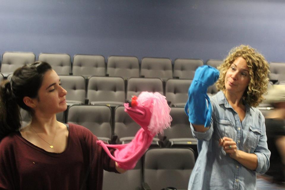 Left to Right: Montana Lampert Hoover (Jessica/Jolene) and Erica Steinhagen (Margery)