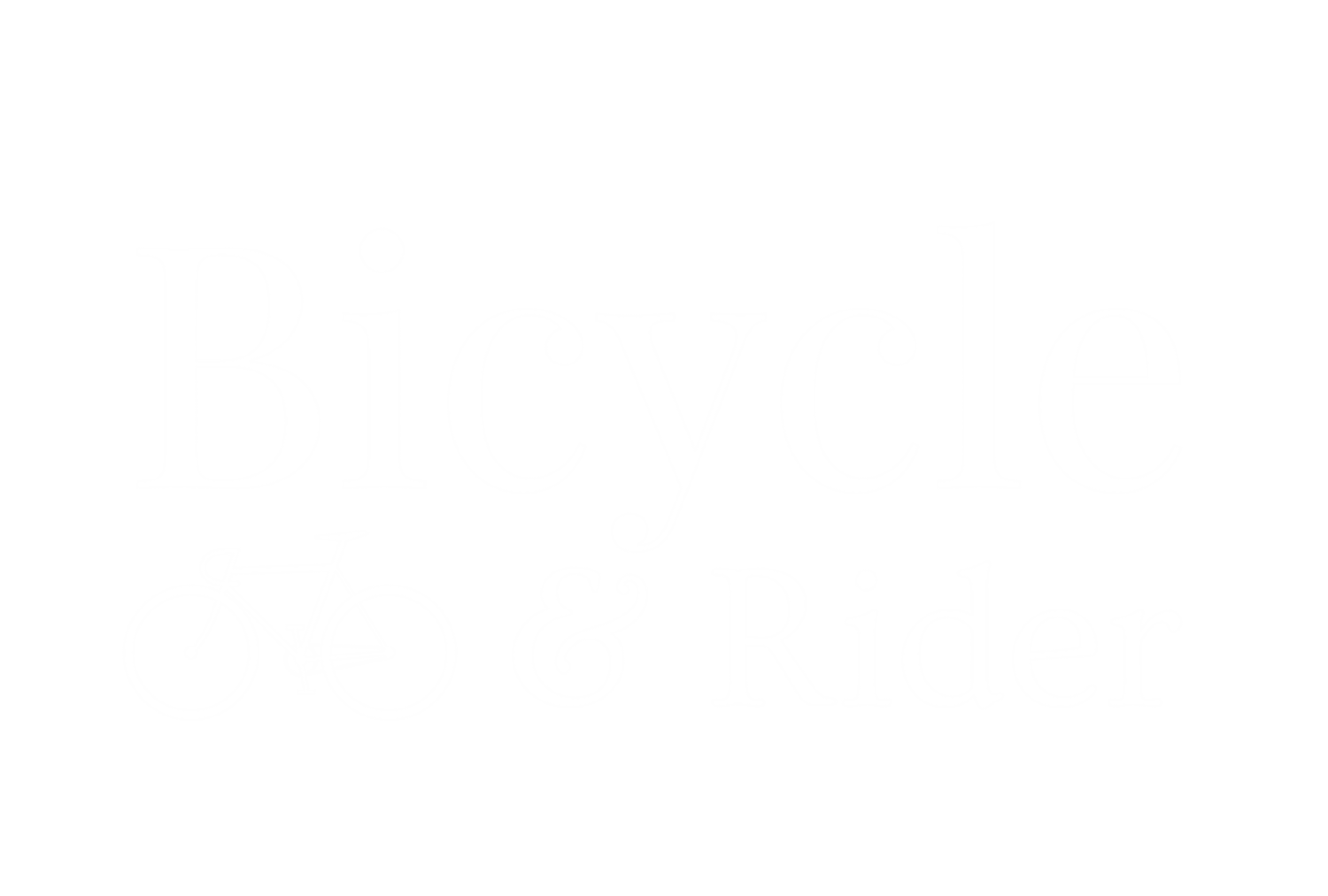 Bicycle and Rider