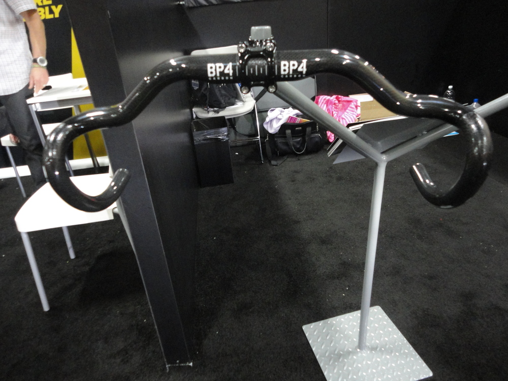 Interesting bars from BP4 Design. The make some big claims for reducing drag and increasing efficiency, but I cant help but feel that it would be simply a result of a more aggressive position rather than the bar itself. We will have to try to get a pair to test.