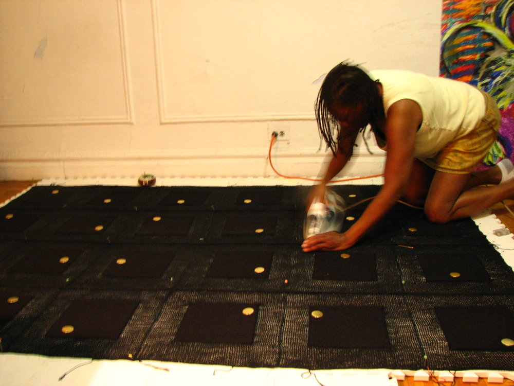 Blocking! The most physical but important task.