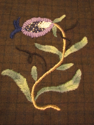 A fabric sample