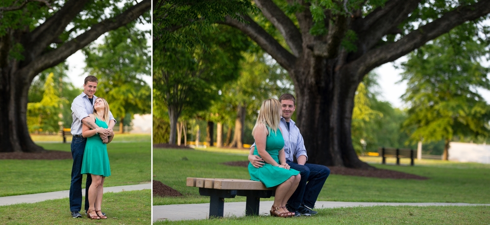 Fayetteville NC Engagement Photographer