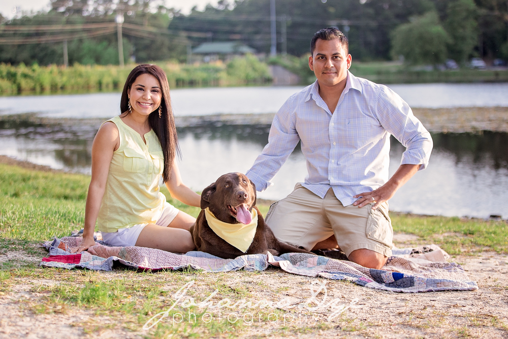 Family Photography at Lake Rim Park in Fayetteville, North Carolina