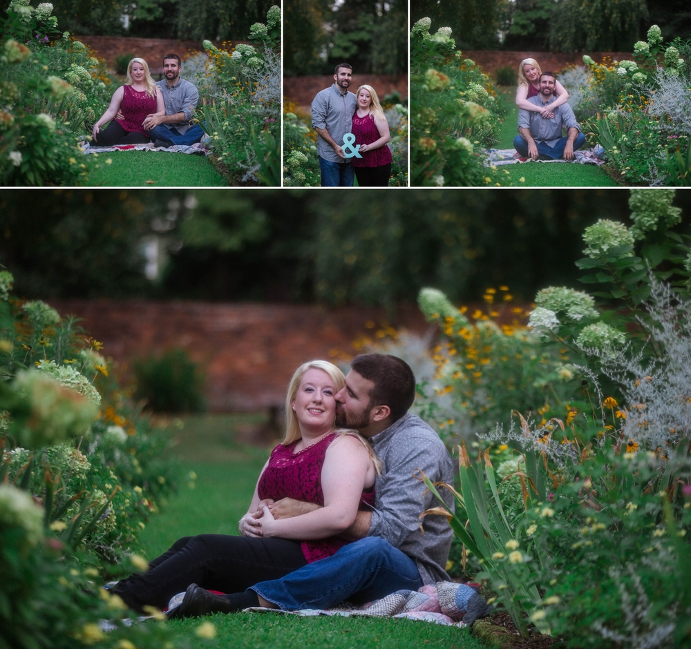 Engagement Photography at Weymouth Center in Southern Pines North Carolina