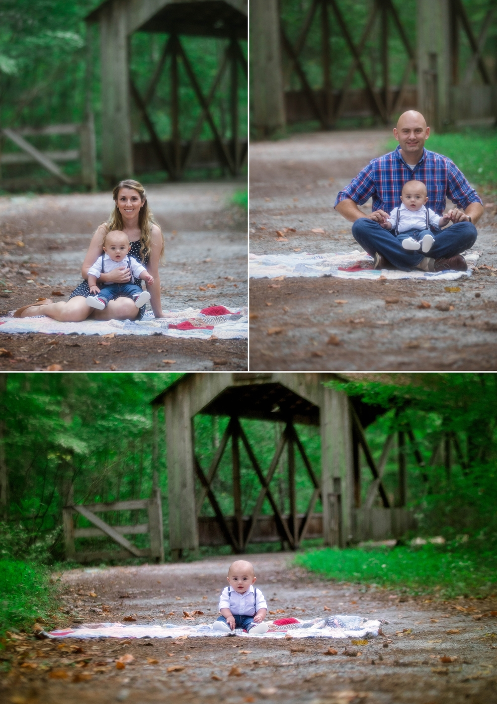 Family Photography at Clark Park in Fayetteville, North Carolina