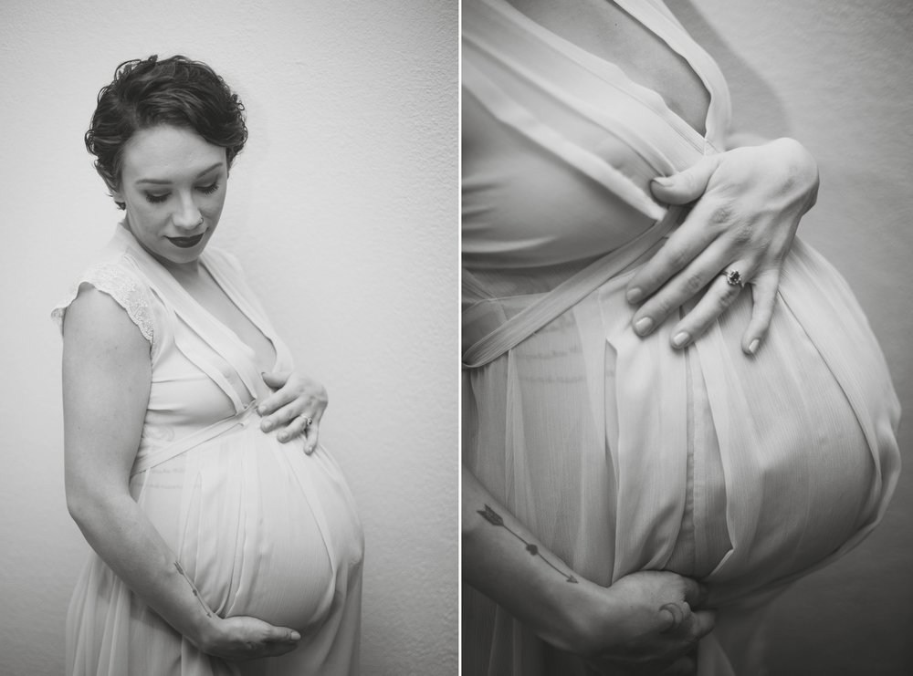 Maternity Boudoir Photography in Fayetteville, North Carolina