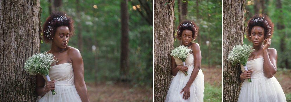Black bride natural hair bride fayetteville north carolina