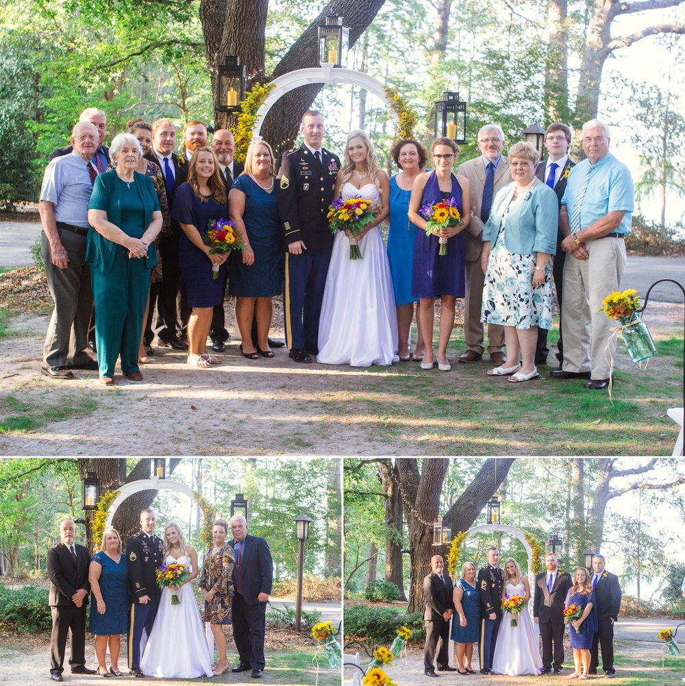 Wedding Photography in Laurinburg North Carolina