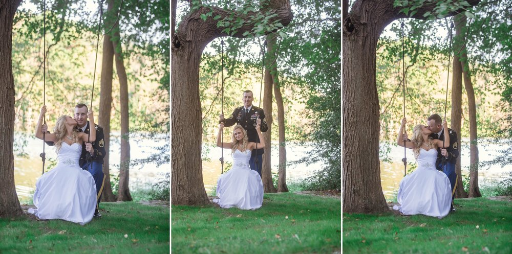 Wedding at King Fisher Society in Laurel Hill North Carolina