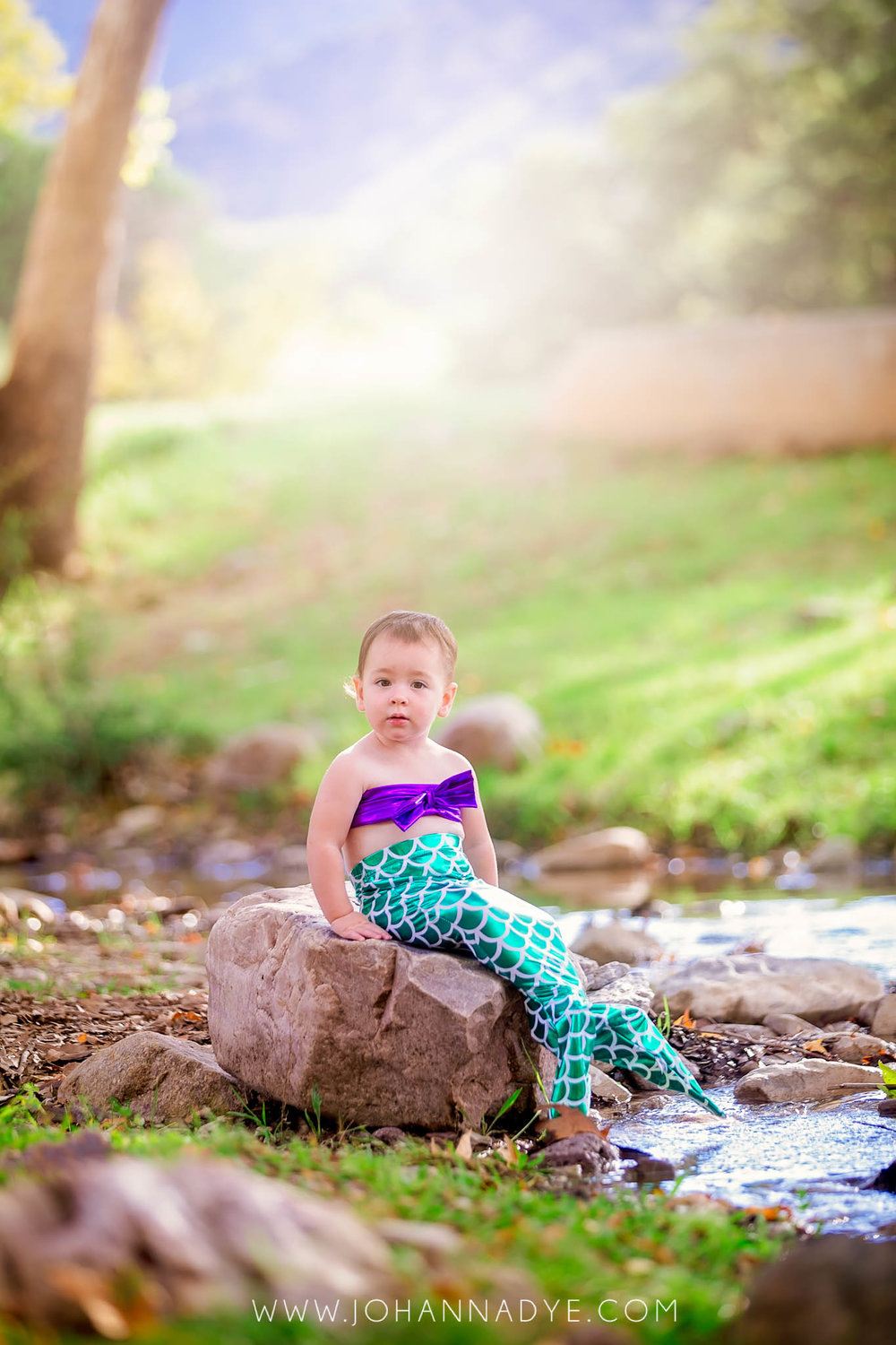 Mermaid Photography for Children in Fayetteville, North Carolina