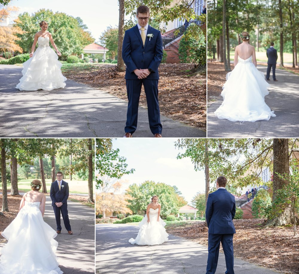 Wedding Photography at Brier Creek Country Club in Raleigh North Carolina