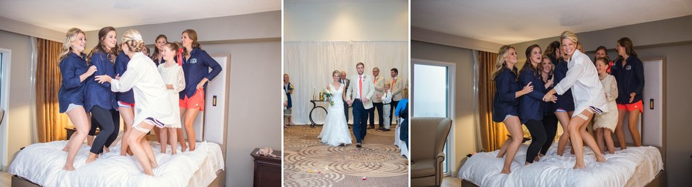 Wedding Photography at the Sheraton Hotel in Downtown Raleigh North carolina