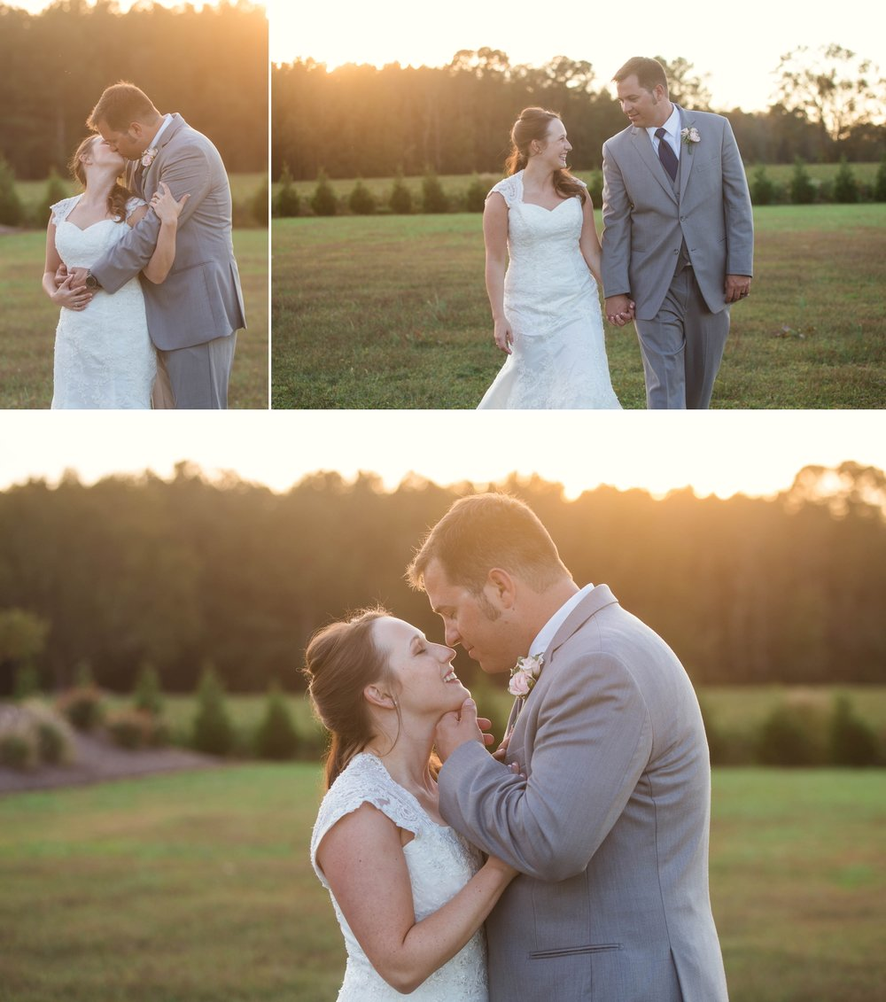 Wedding at the Farm in Selma, North Carolina