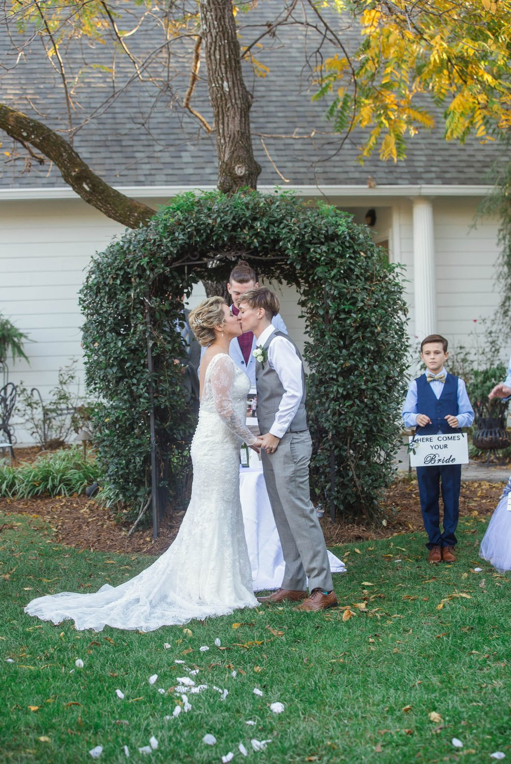 Gay Wedding Photography in North Carolina