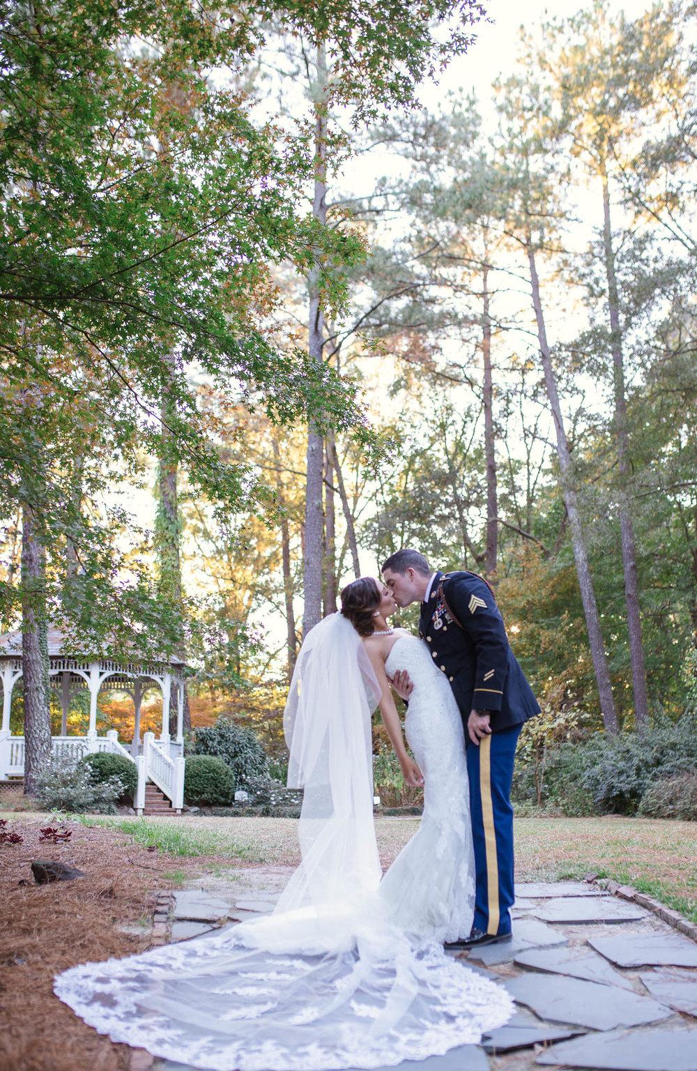 Fayetteville North Carolina Wedding Photographer - Wedding at Cape Fear Botanical Garden