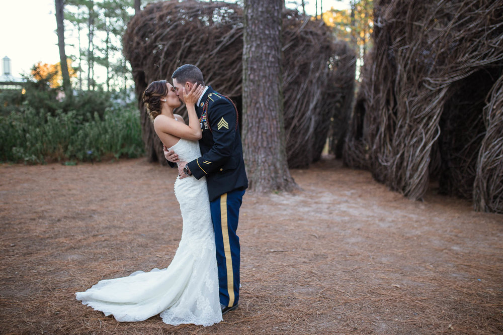 Wedding Photographer at Cape Fear Botanical Garden in Fayetteville North Carolina