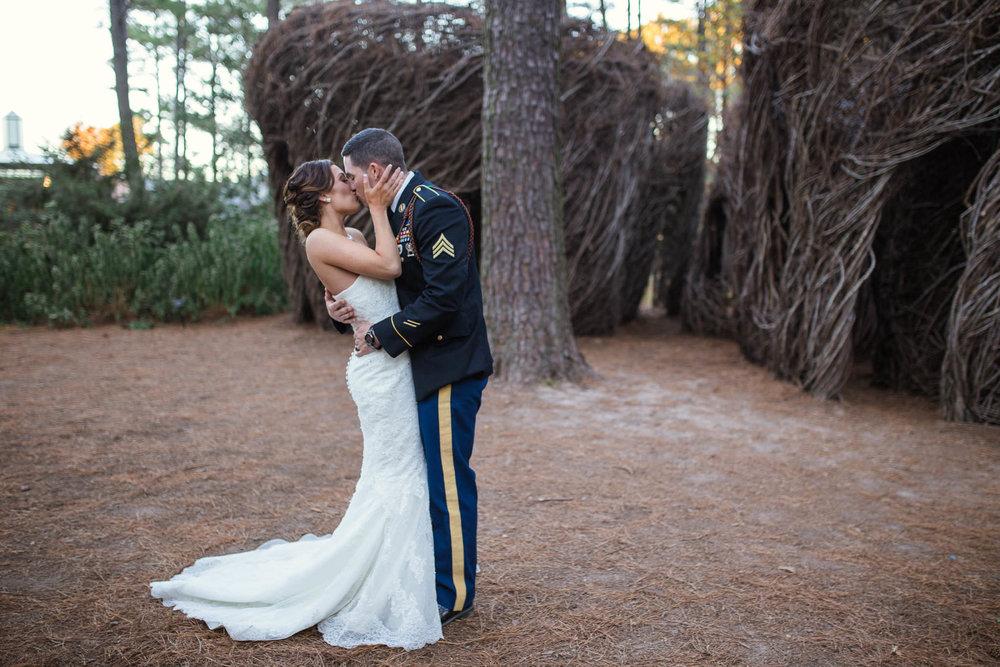 Wedding Photographer at Cape Fear Botanical Garden in Fayetteville North Carolina