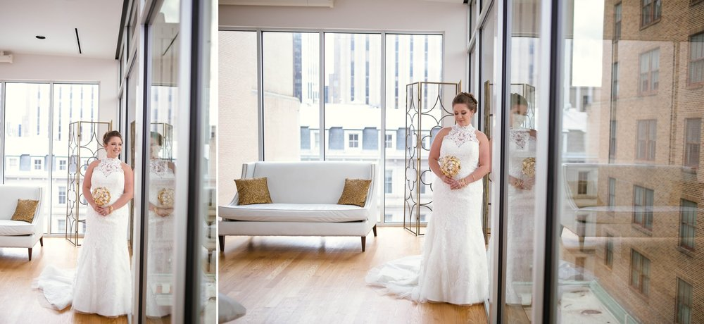 Bridal Photography  Session at the Glass Box in Raleigh North Carolina