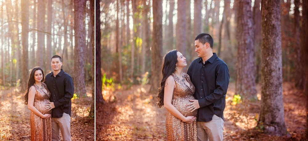 Maternity Session at Clark Park - Fayetteville North Carolina Photographer - Johanna Dye Photography
