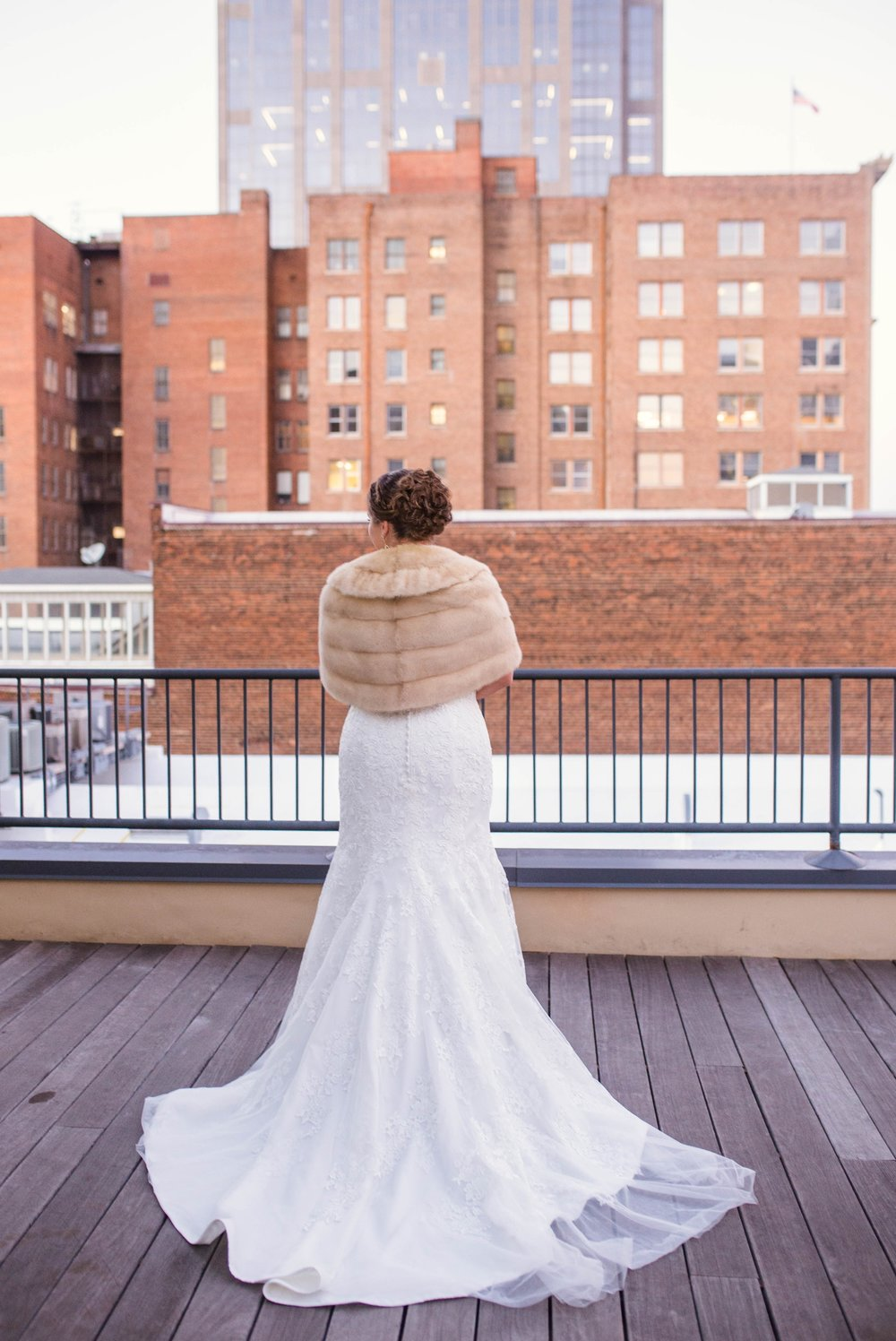 Wedding and Getting Ready at the Glass Box at 230 in Raleigh North Carolina