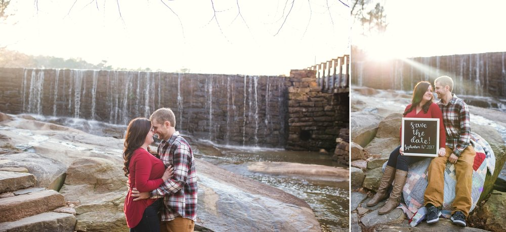 Raleigh Engagement Photographer at Yates Mill Park - Johanna Dye Photography - Dean Engagement