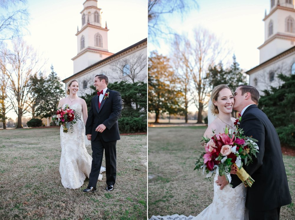 Wedding at Fort Bragg NC Main Post Chapel, Fayetteville North Carolina Photographer