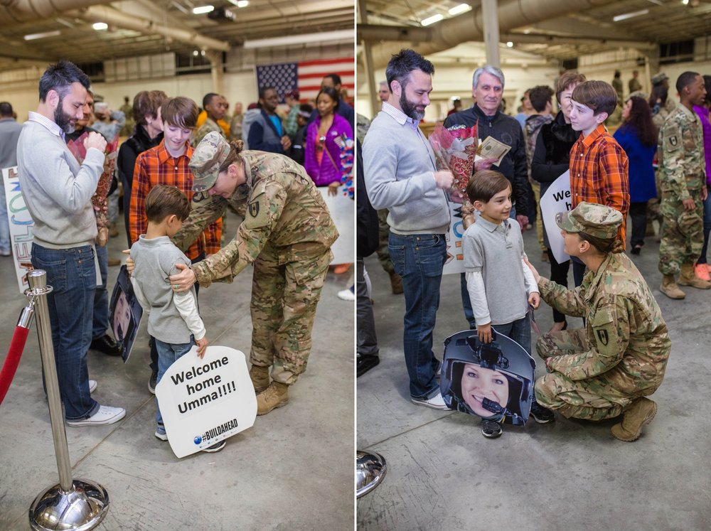 Fort Bragg North Carolina Military Homecoming - Fayetteville NC Photographer
