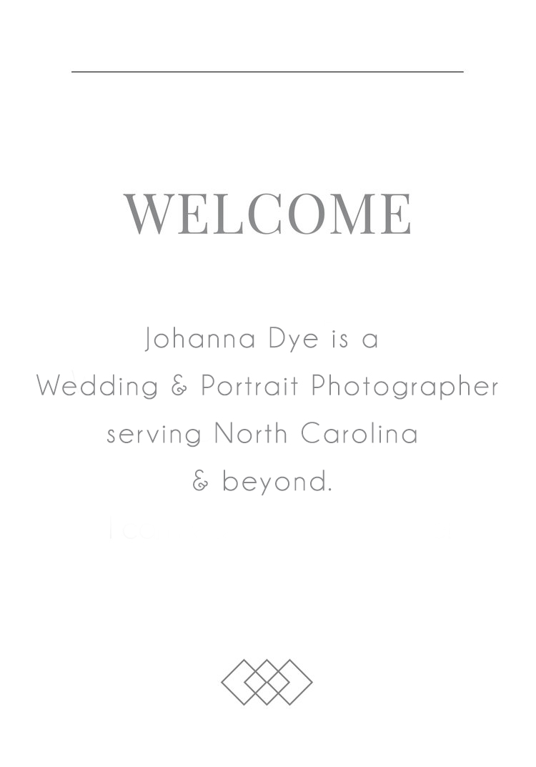 Johanna Dye North Carolina Wedding Photographer