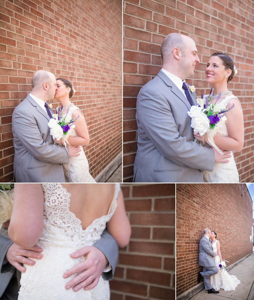 Wedding Photography at the Foundation Event Facility in Bristol Tennessee Virginia - Jaclyn & Matt - Johanna Dye Photography