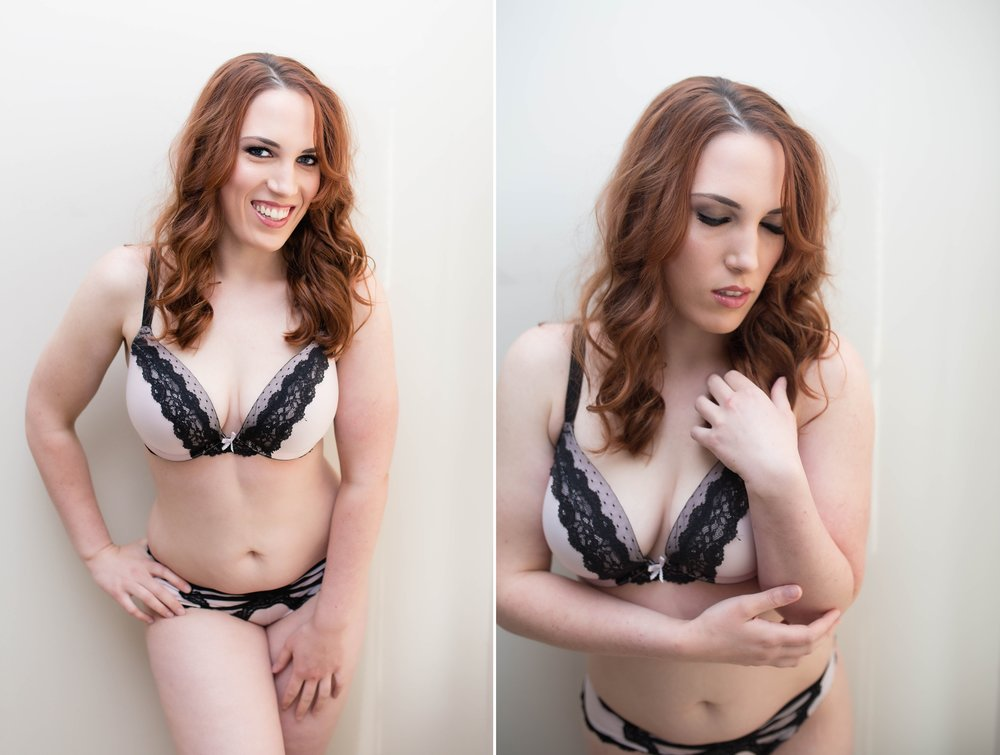 Raleigh North Carolina Female Boudoir Photographer - Cozy Lifestyle Glamour Session - Johanna Dye Photography