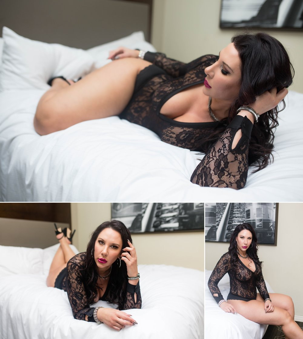Raleigh North Carolina boudoir photography - johanna dye photographer - curve model - plus size