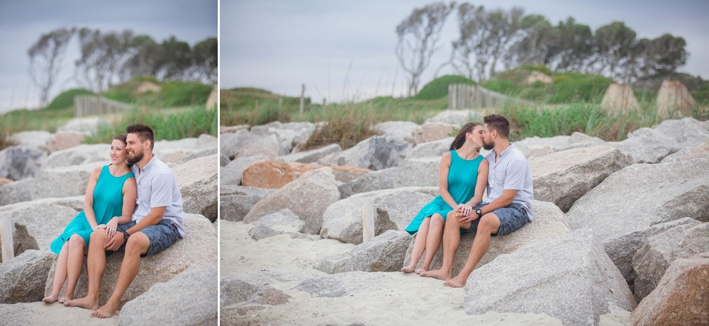 Fort Fisher NC Beach Photography Session - Wilmington North Carolina Engagement Photographer