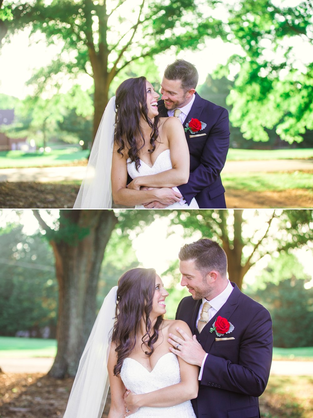 Wedding Photography at the Cabarrus Country Club in Concord NC - Charlotte North Carolina Photographer