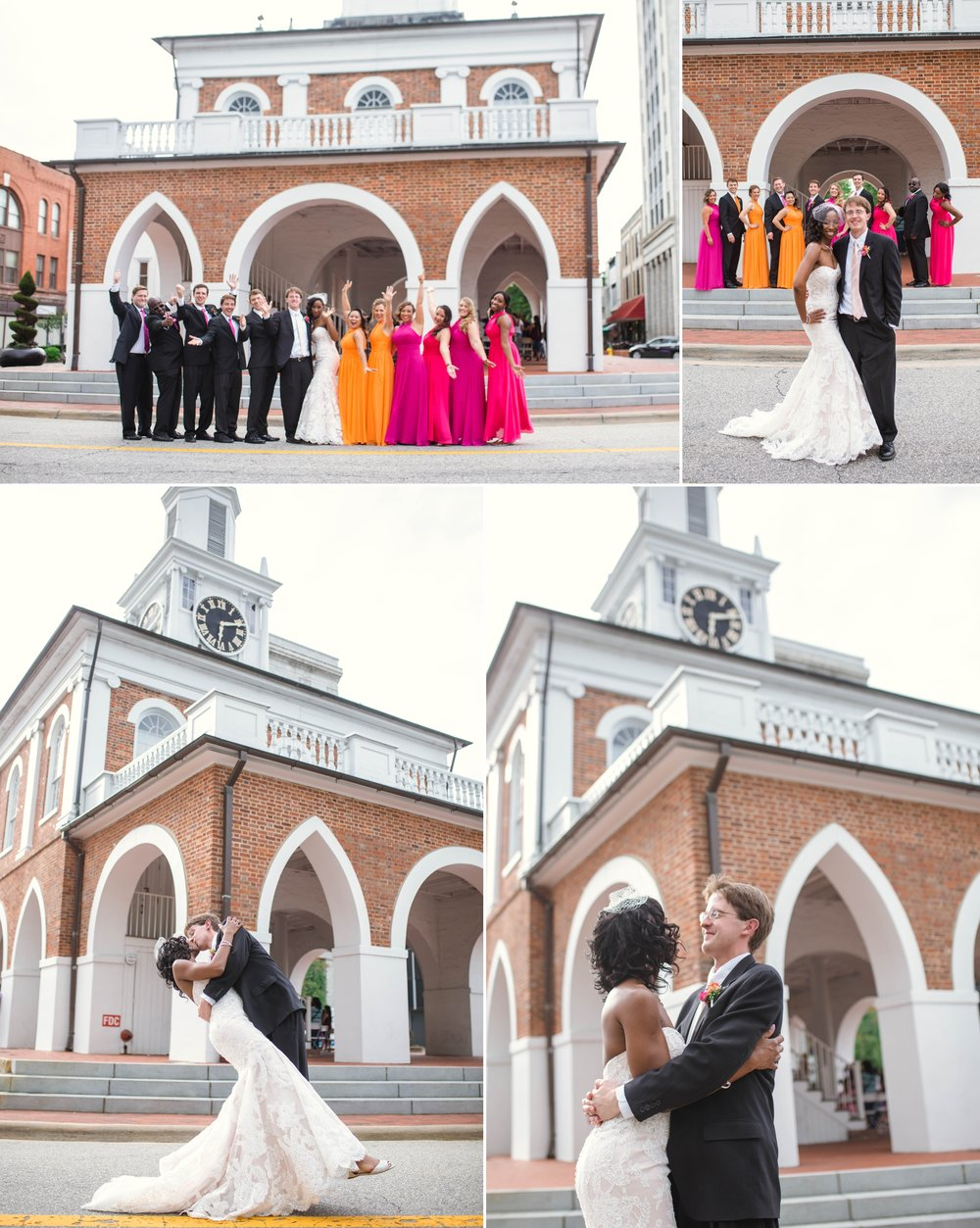 Scott + Kady Ann - Wedding Photography at St Andrews United Methodist Church - Fayetteville North Carolina Photographer