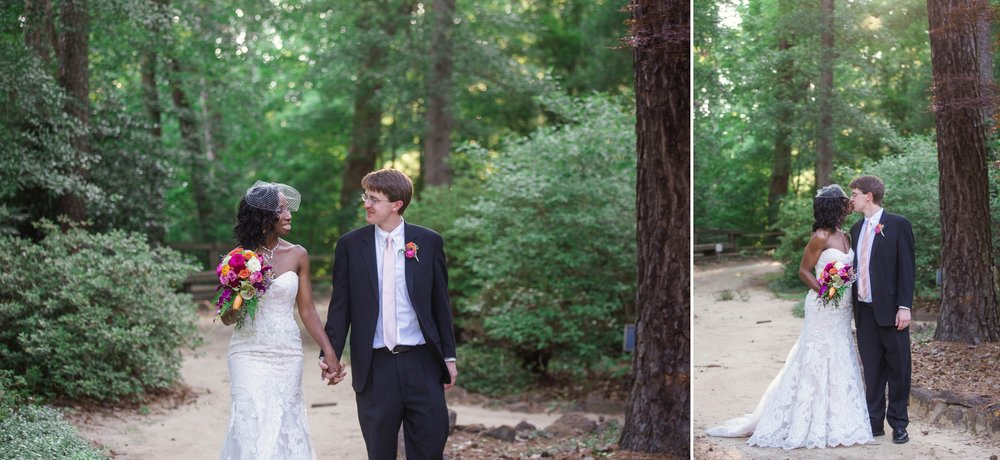 Scott + Kady Ann - Wedding Photography at Cape Fear Botanical Gardens - Fayetteville North Carolina Photographer