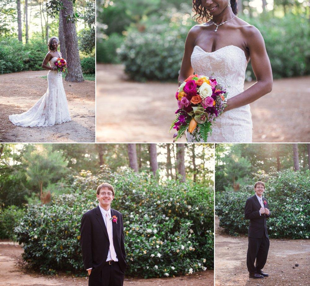 Scott + Kady Ann - Wedding Photography at Cape Fear Botanical Gardens - Fayetteville North Carolina Photographer