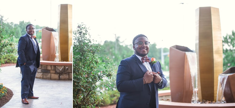 Wedding Photography at the Embassy Suites in Fayetteville North Carolina - Raleigh Photographer