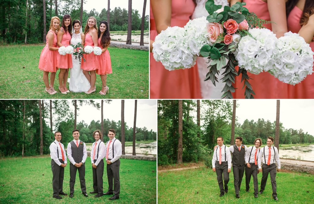 Photographer in Fayetteville, North Carolina - Michael and Jessica's Wedding at Mariani's Venue in Pembroke North Carolina