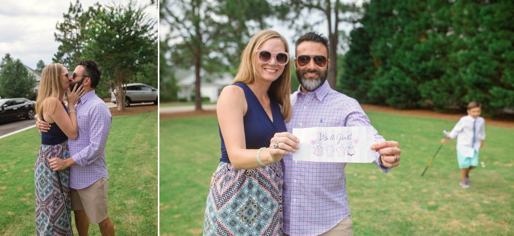 Gender Reveal Maternity Photography - Pinehurst, North Carolina Photographer