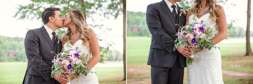 Wedding at Carolina Trace Country Club in Sanford, NC - Johanna Dye Photography