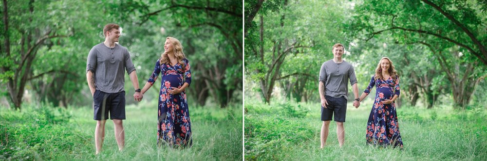 Lambert Family - Fayetteville North Carolina Maternity Photographer
