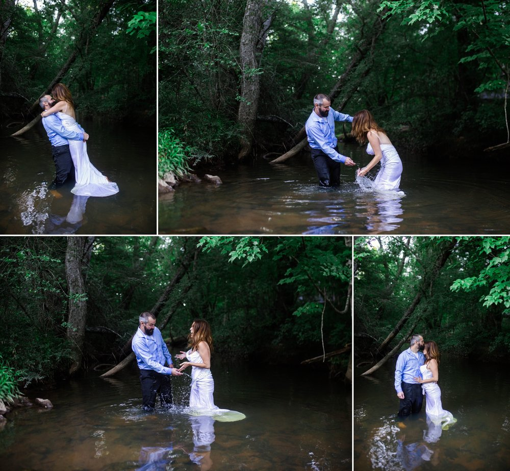 Trash the Dress - Raleigh North Carolina Wedding Photographer