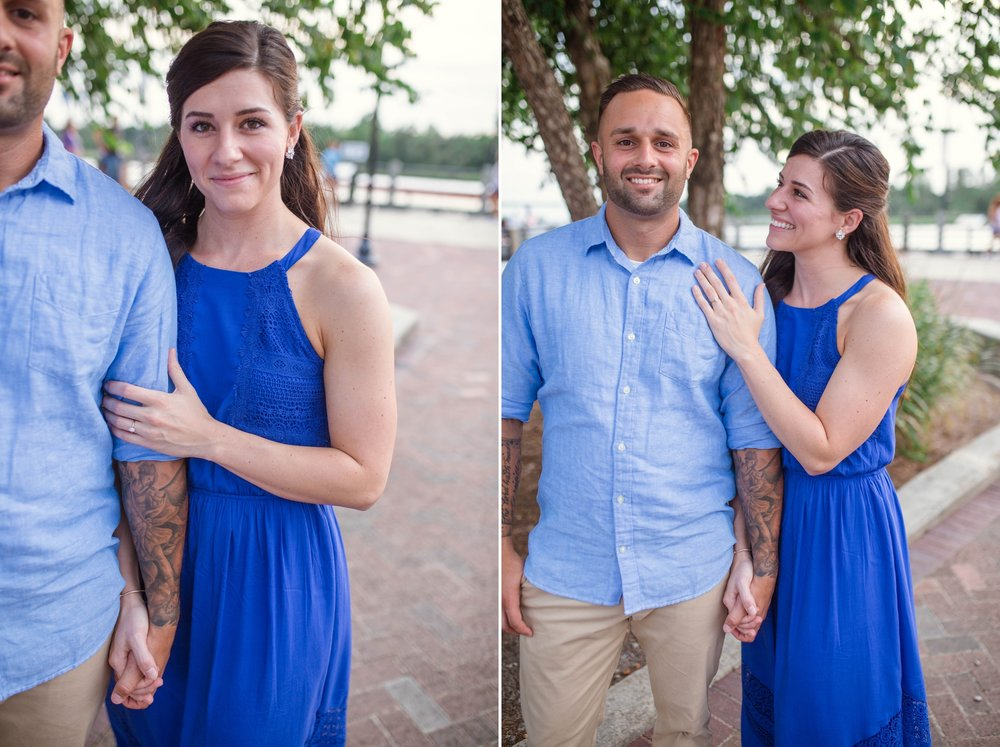 Engagement Photography Session in Downtown Wilmington, North Carolina - Wedding Photographer in NC  3.jpg