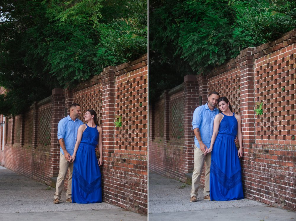 Engagement Photography Session in Downtown Wilmington, North Carolina - Wedding Photographer in NC  5.jpg